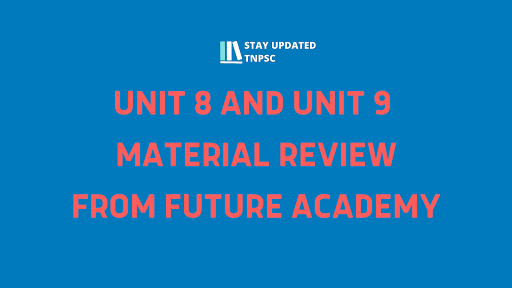 FUTURE ACADEMY UNIT 8 AND UNIT 9 MATERIAL SAMPLE COPIES