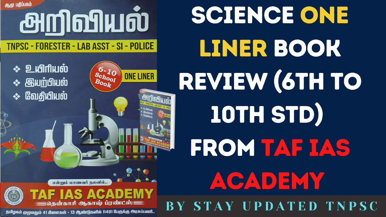 TAF IAS ACADEMY Science One liner pdf download